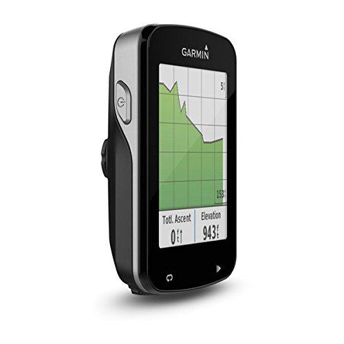 Garmin Edge 820 - display acceso di profilo con calorie bruciate