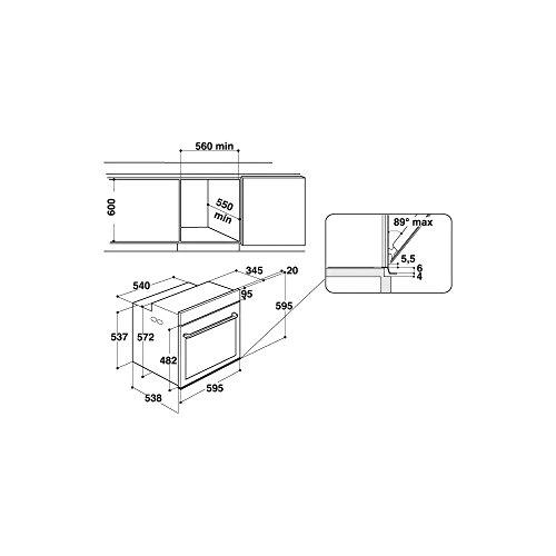 Hotpoint FI7 891 SP IX HA - Recensione, Prezzi e Migliori Offerte. Dettaglio 2