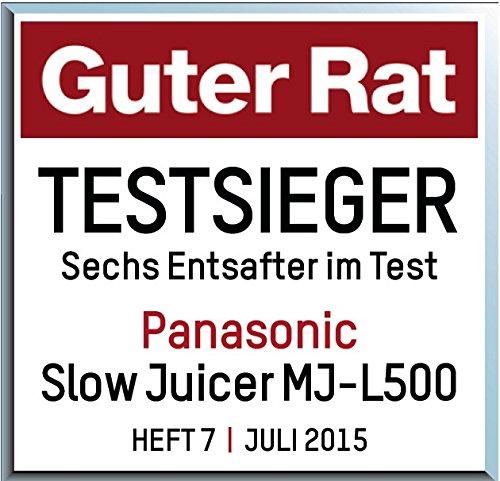 Panasonic MJ-L500 - Recensione, Prezzi e Migliori Offerte. Dettaglio 8