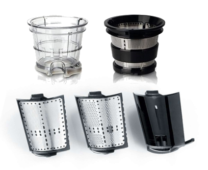 filtri estrattore di succo