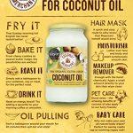 Coconut Merchant Olio di Cocco - Recensione, Prezzi e Migliori Offerte. Dettaglio 7
