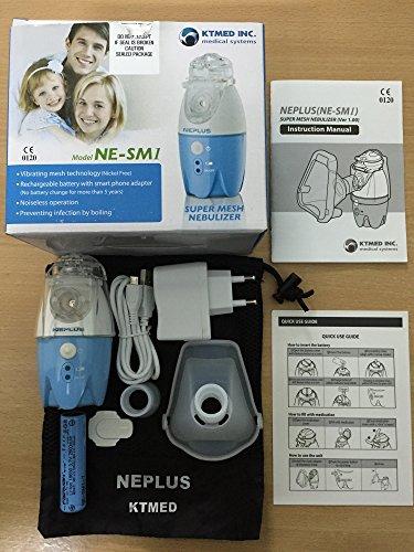 NEPLUS Super Mesh Nebulizer - Recensione, Prezzi e Migliori Offerte. Dettaglio 6