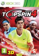 Top Spin 4 - Miglior Gioco Xbox 360 di Tennis