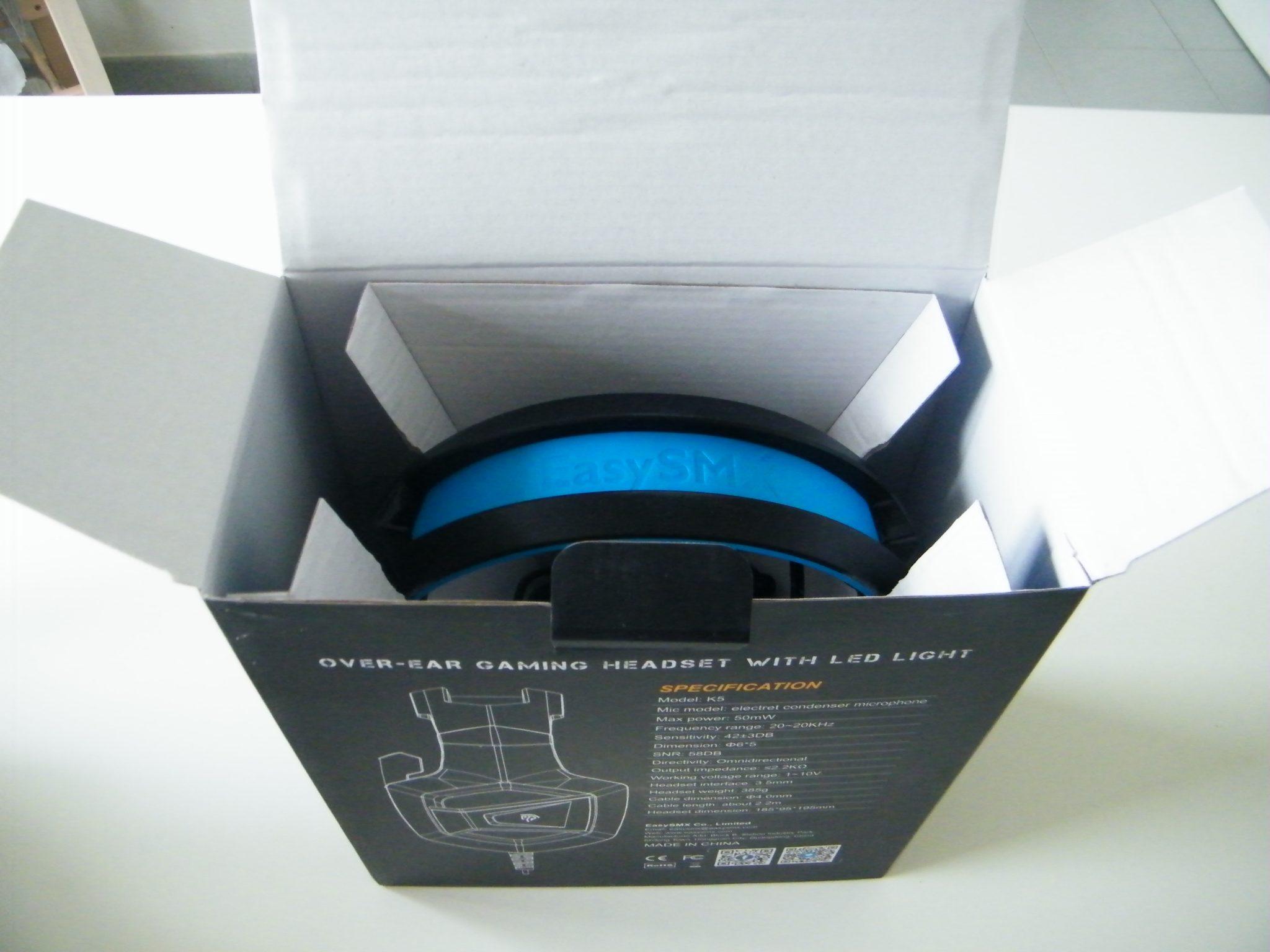 EasySMX K5 Unboxing 2