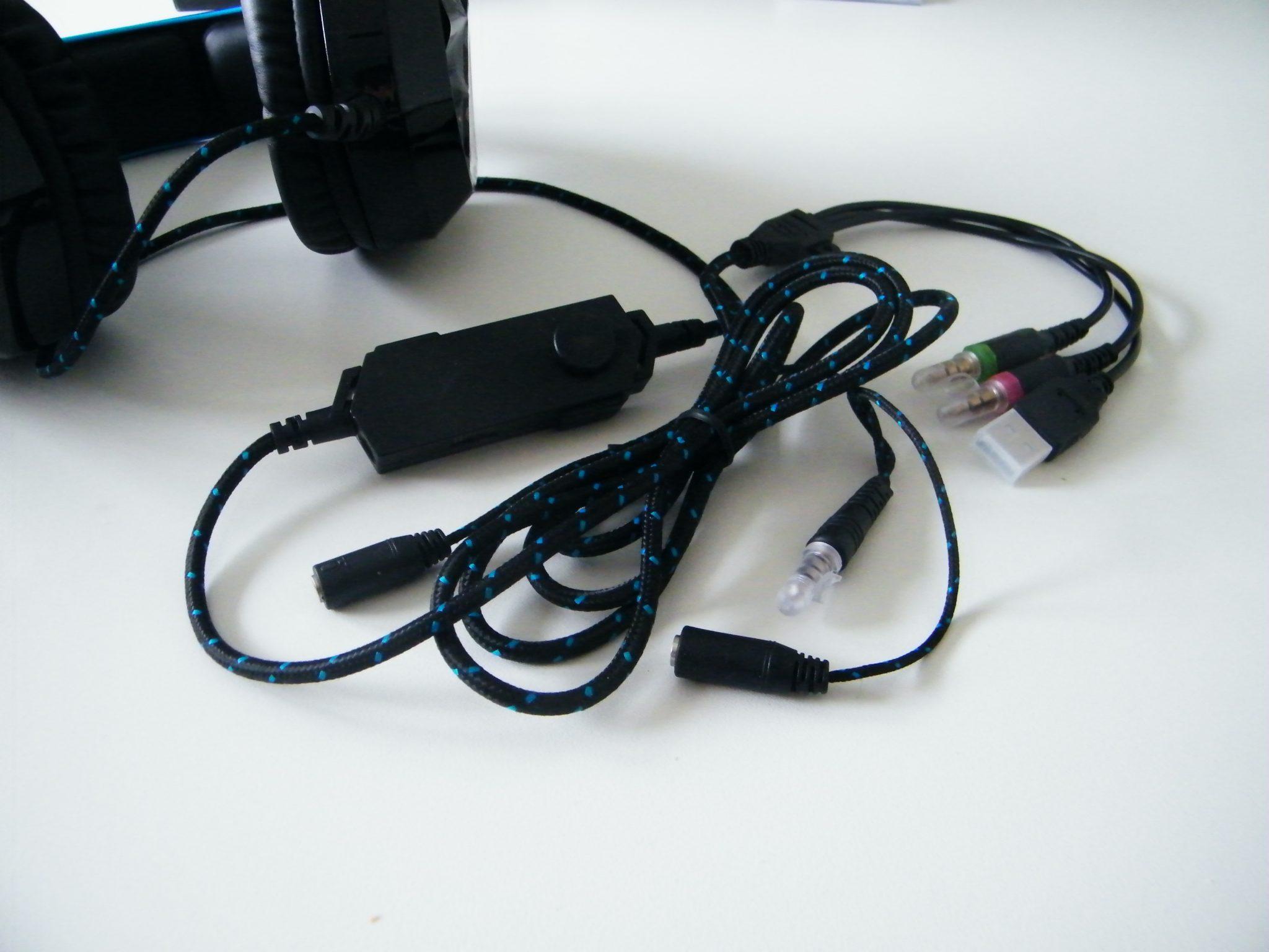 EasySMX K5 Dettaglio cavi