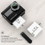 DBPOWER Action Camera 4K - Recensione, Prezzi e Migliori Offerte. Dettaglio 6