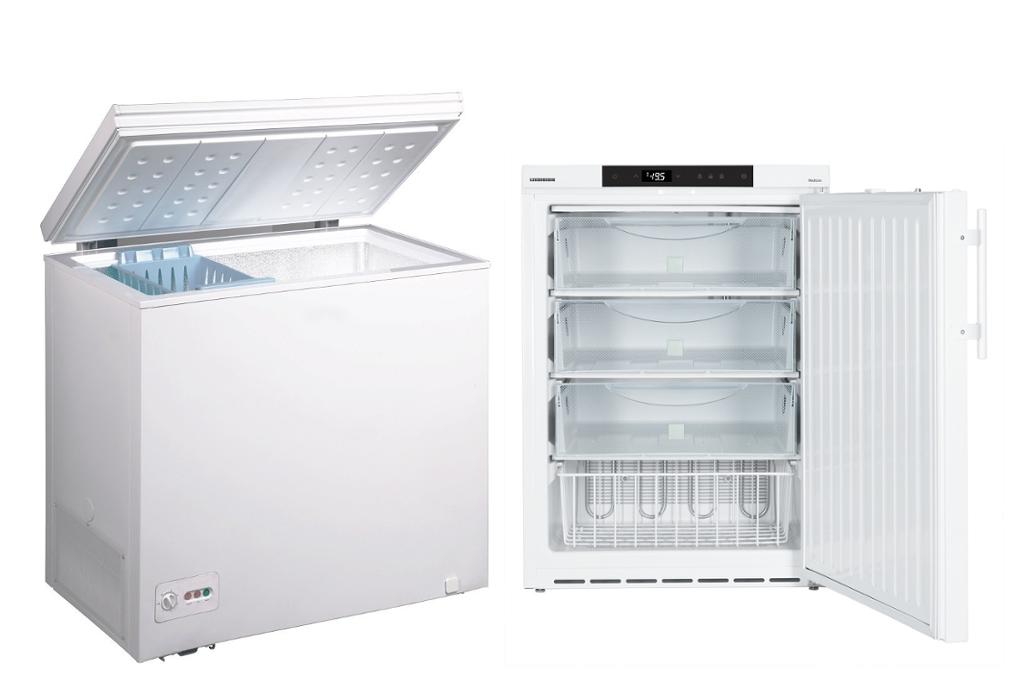congelatore a pozzetto o a cassetti