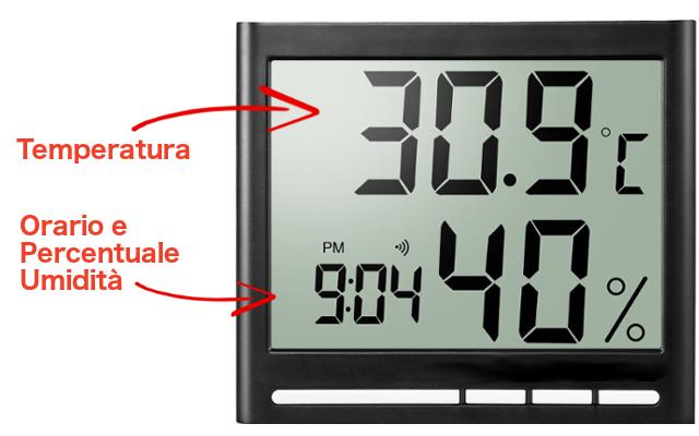 igrometro e termometro
