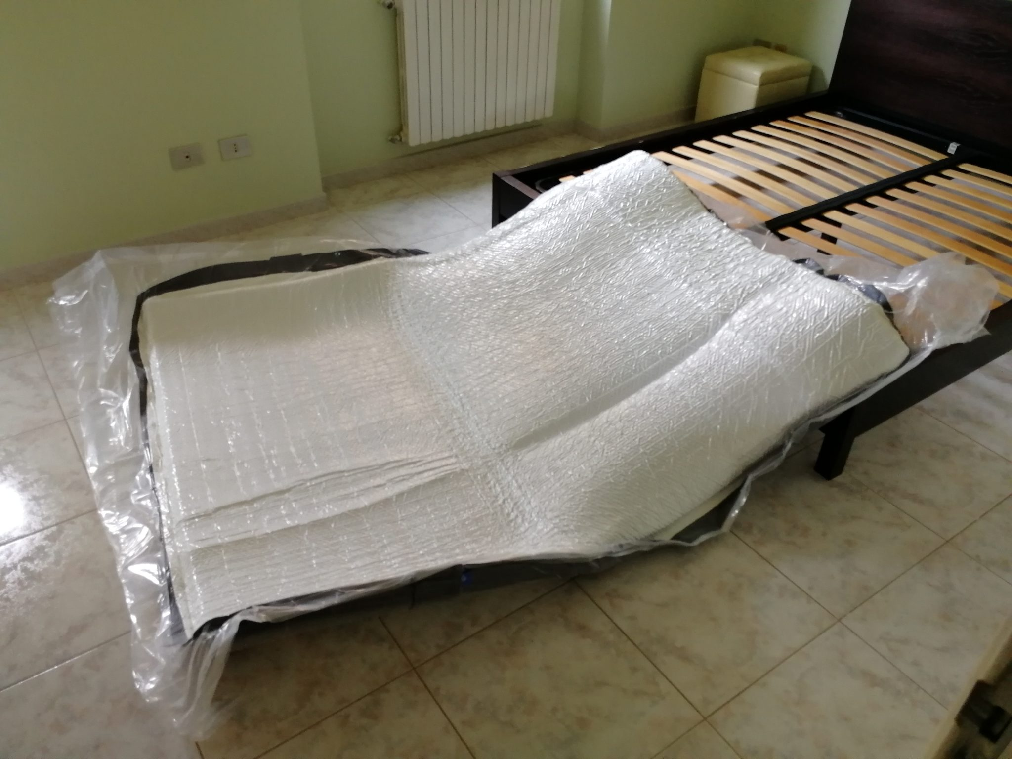 Emma original - Installazione - posizionamento materasso sottovuoto
