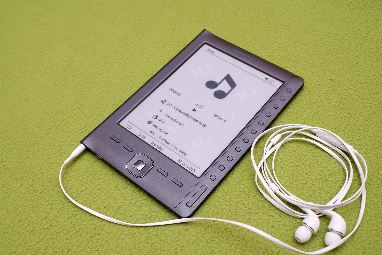 ebook reader - audiolibri