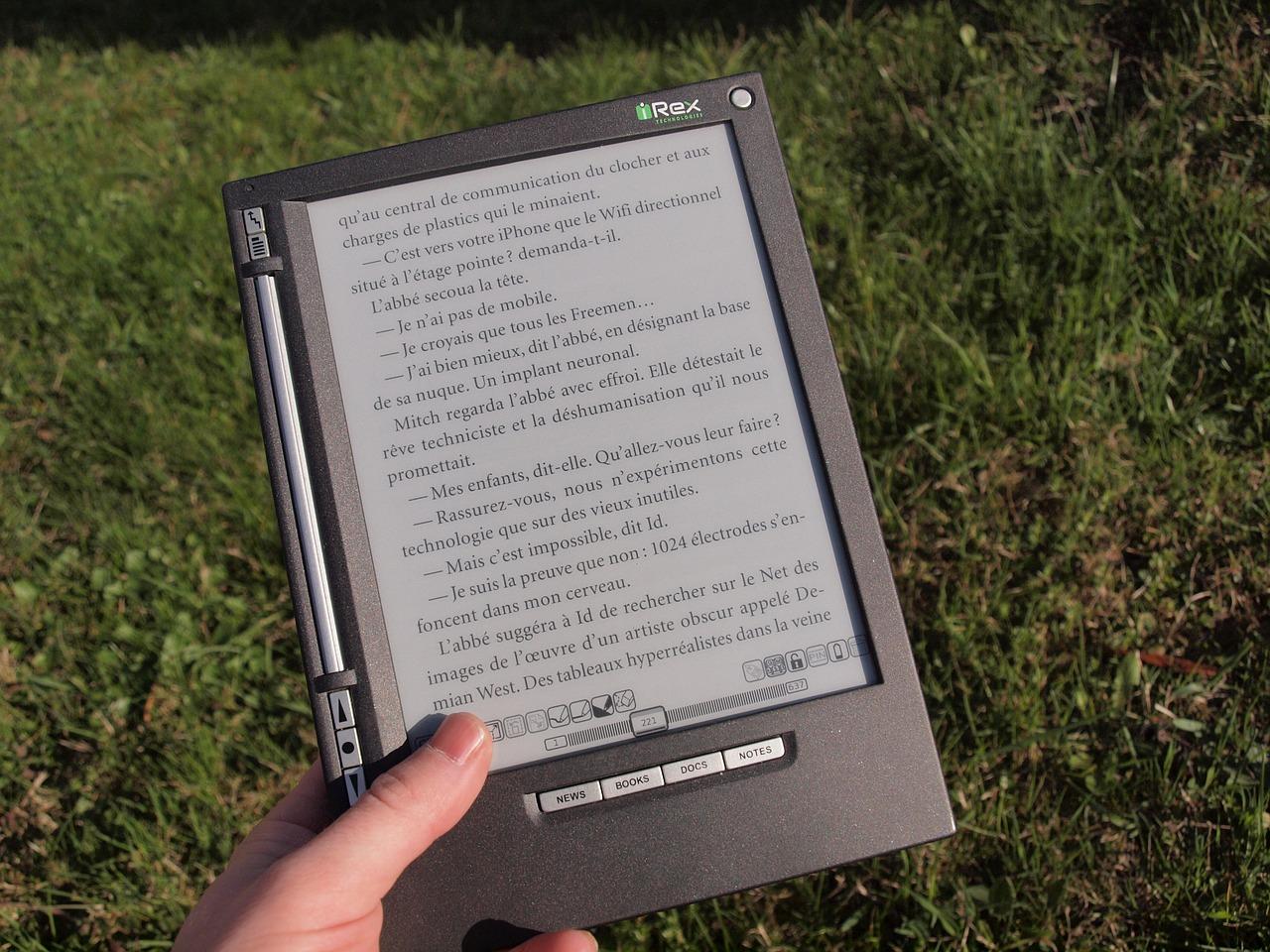 ebook reader - pennino