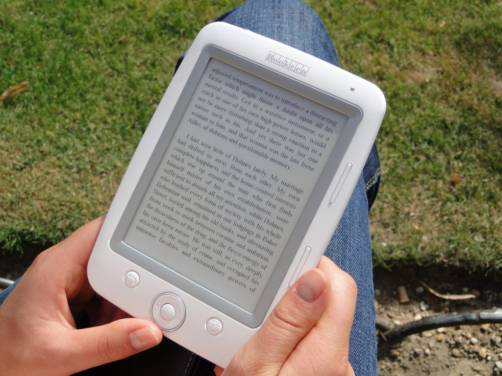 ebook reader - tasti fisici