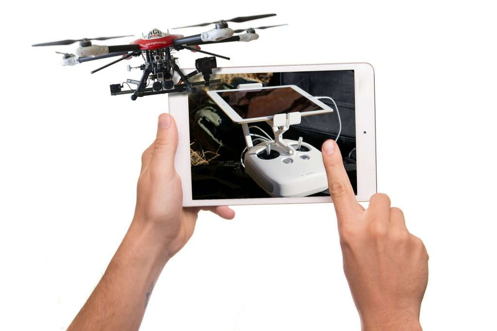 drone - tablet