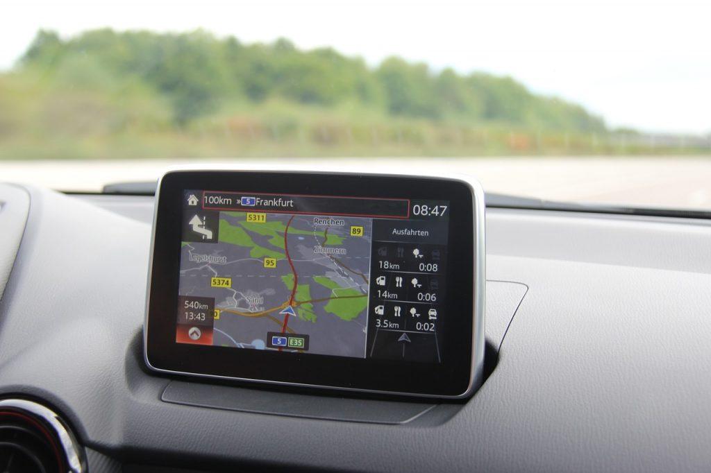 navigatore satellitare - dimensioni schermo