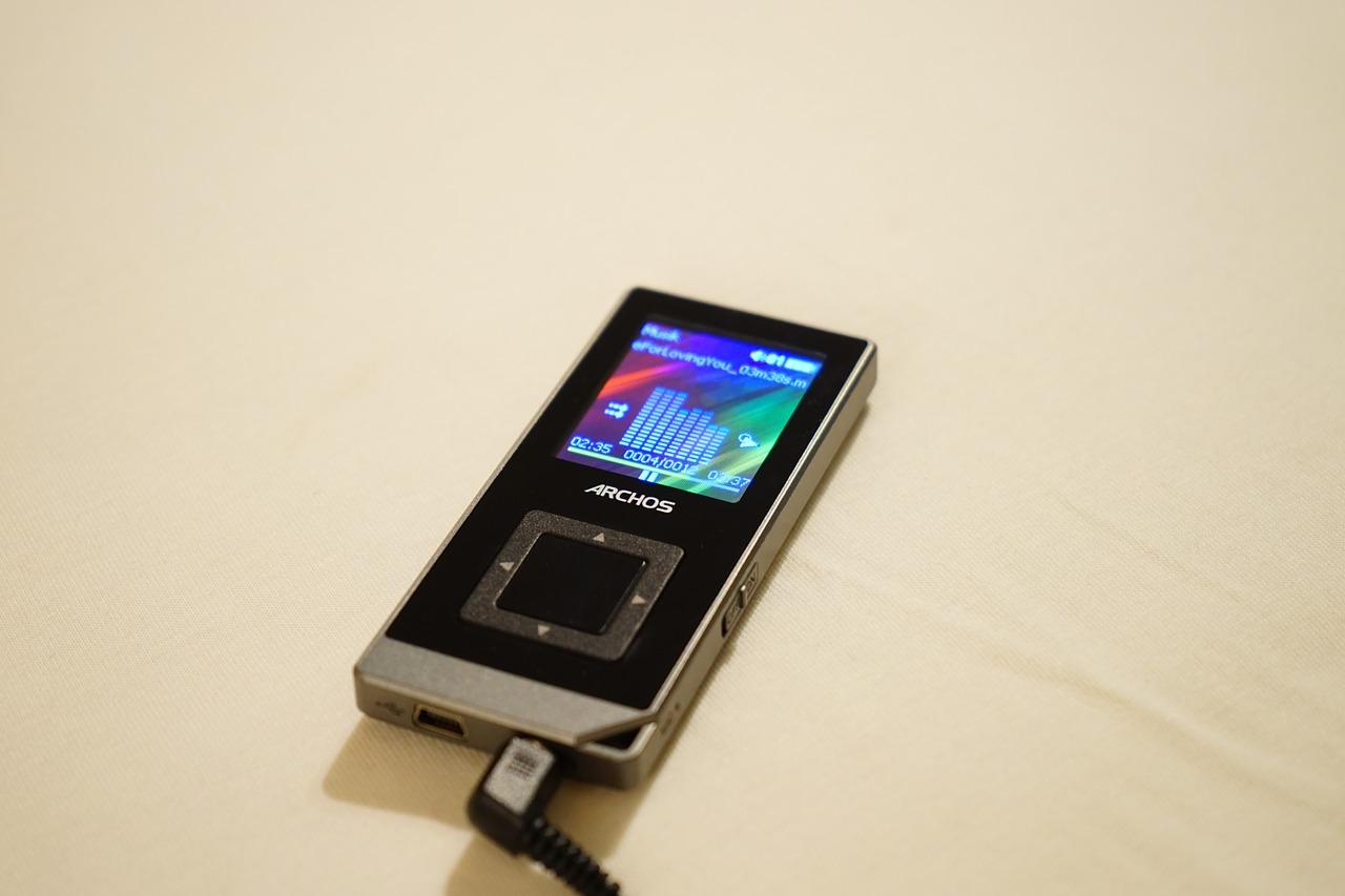 lettore mp3 - batteria