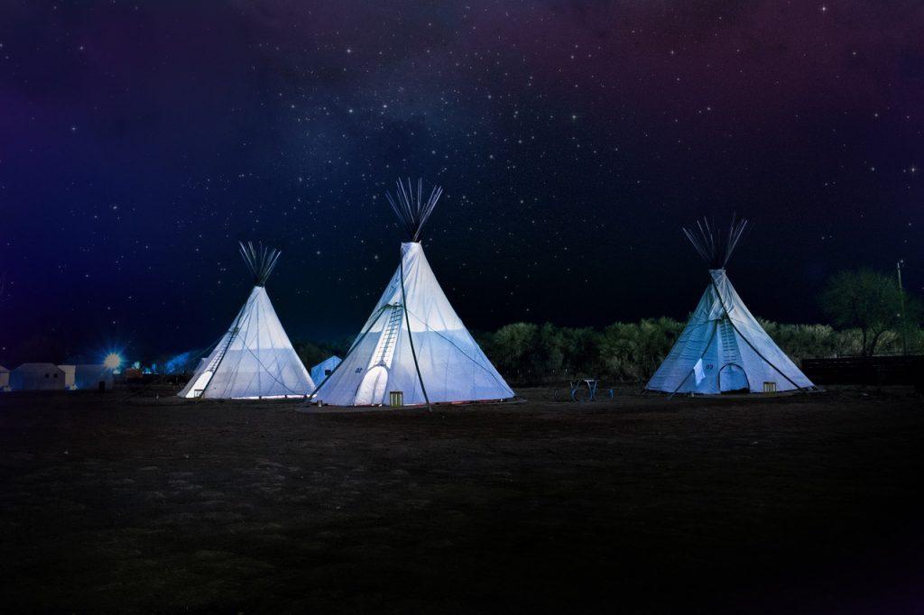tenda da campeggio - forma