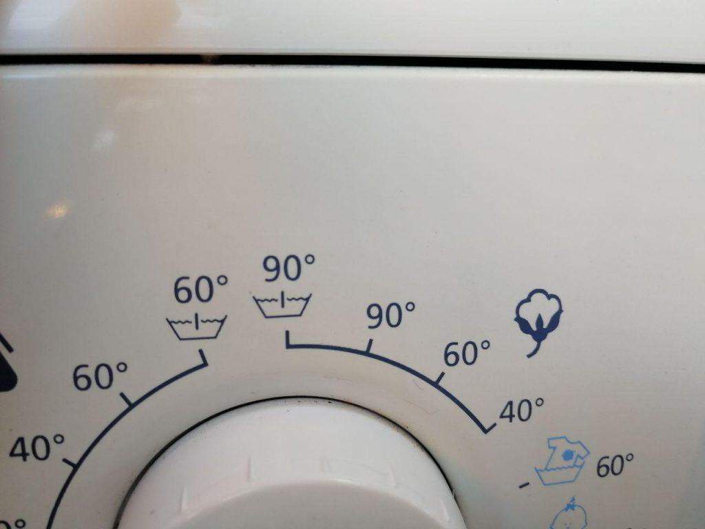 simbolo lavatrice tessuti in cotone