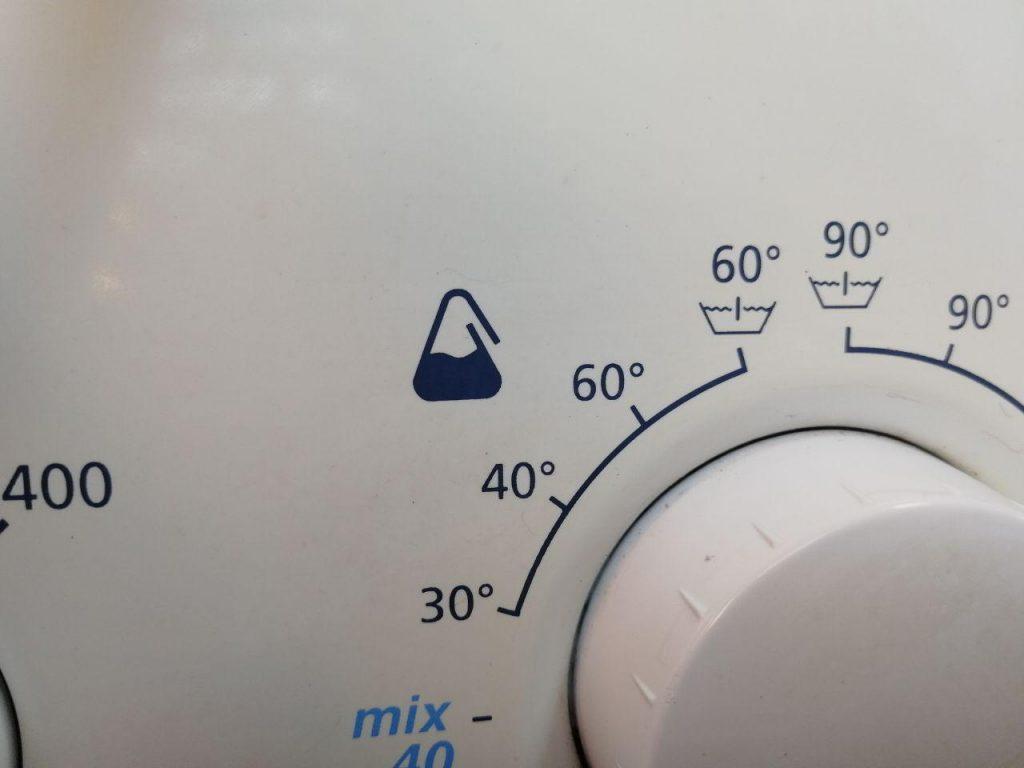 simbolo lavatrice tessuti sintetici