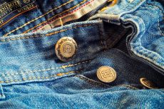 jeans allargati