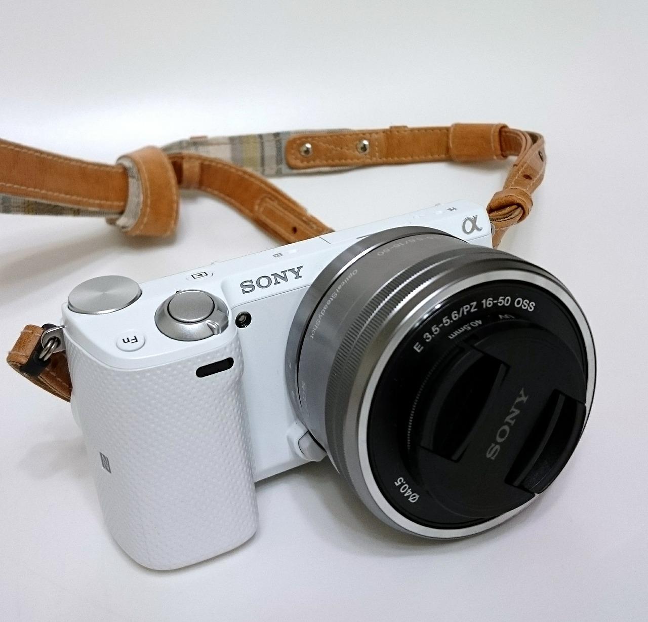 fotocamera mirrorless sony