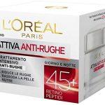 L'Oréal Paris Crema Viso Anti-rughe Attiva 45+ - Recensione, Prezzi e Migliori Offerte. Dettaglio 2