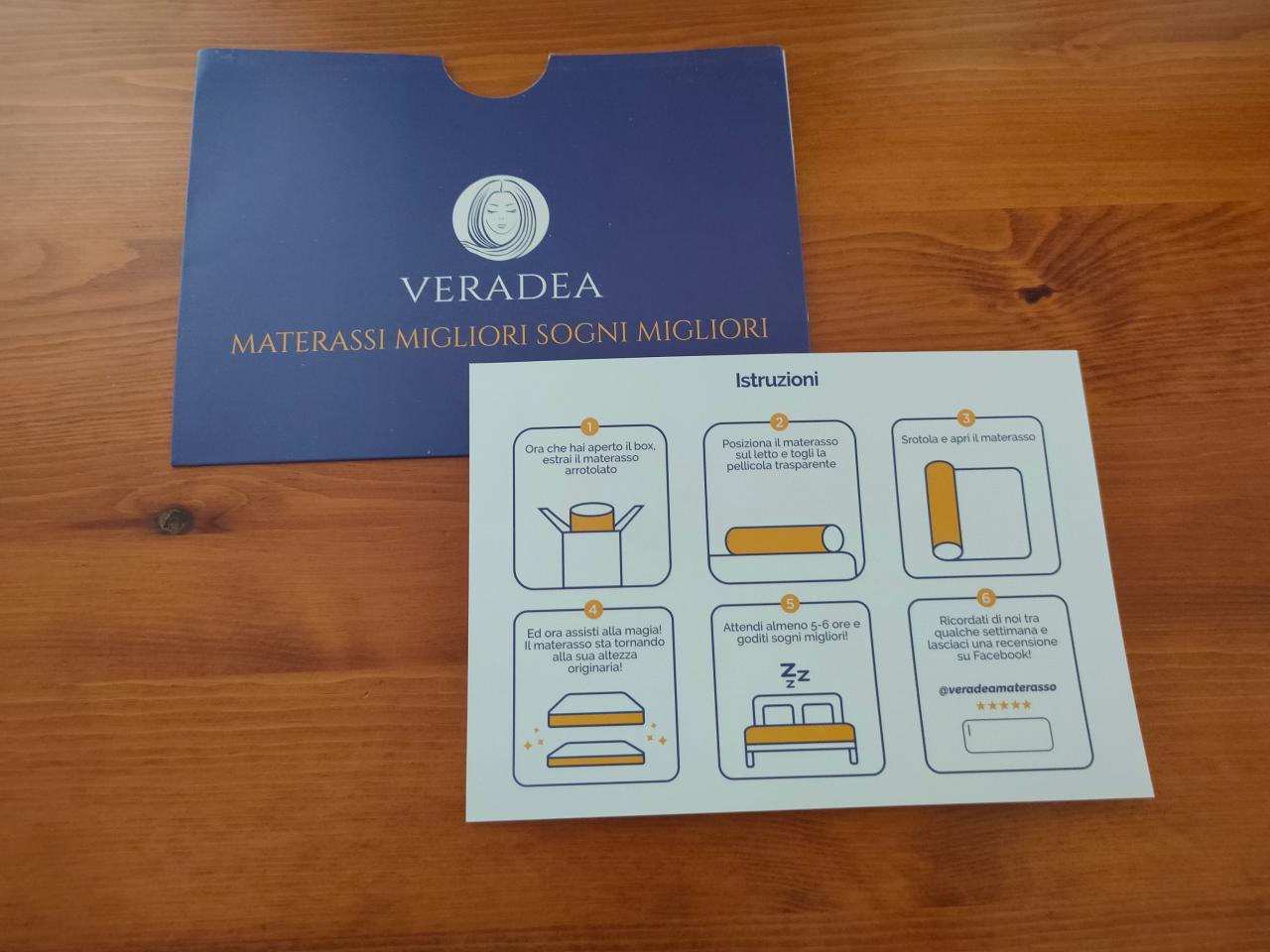 Veradea Materasso Memory Gel Recensione Opinioni E Migliori Offerte